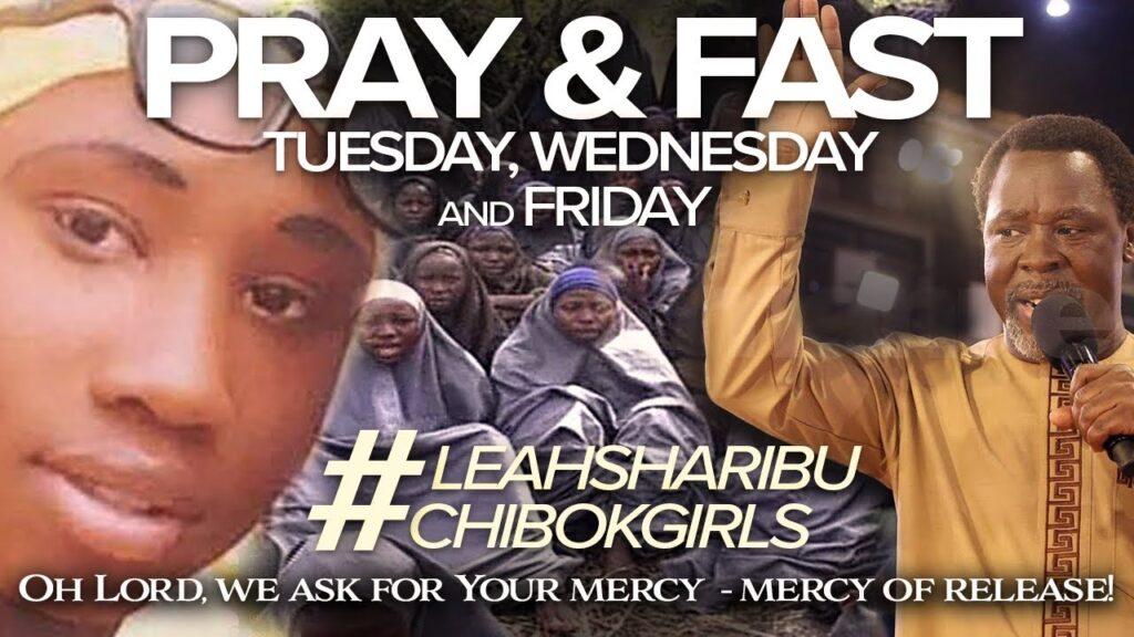 Chibok Meets Prophet TB Joshua