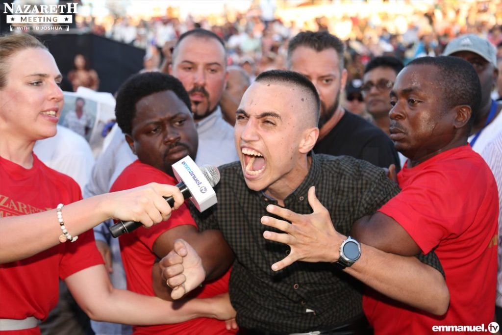 TB Joshua Hosts Historic Meeting in Nazareth, JESUS' Hometown - The