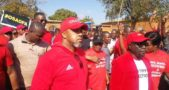 Chilima leads demos for Mec Chair Ansah's resignation in Lilongwe